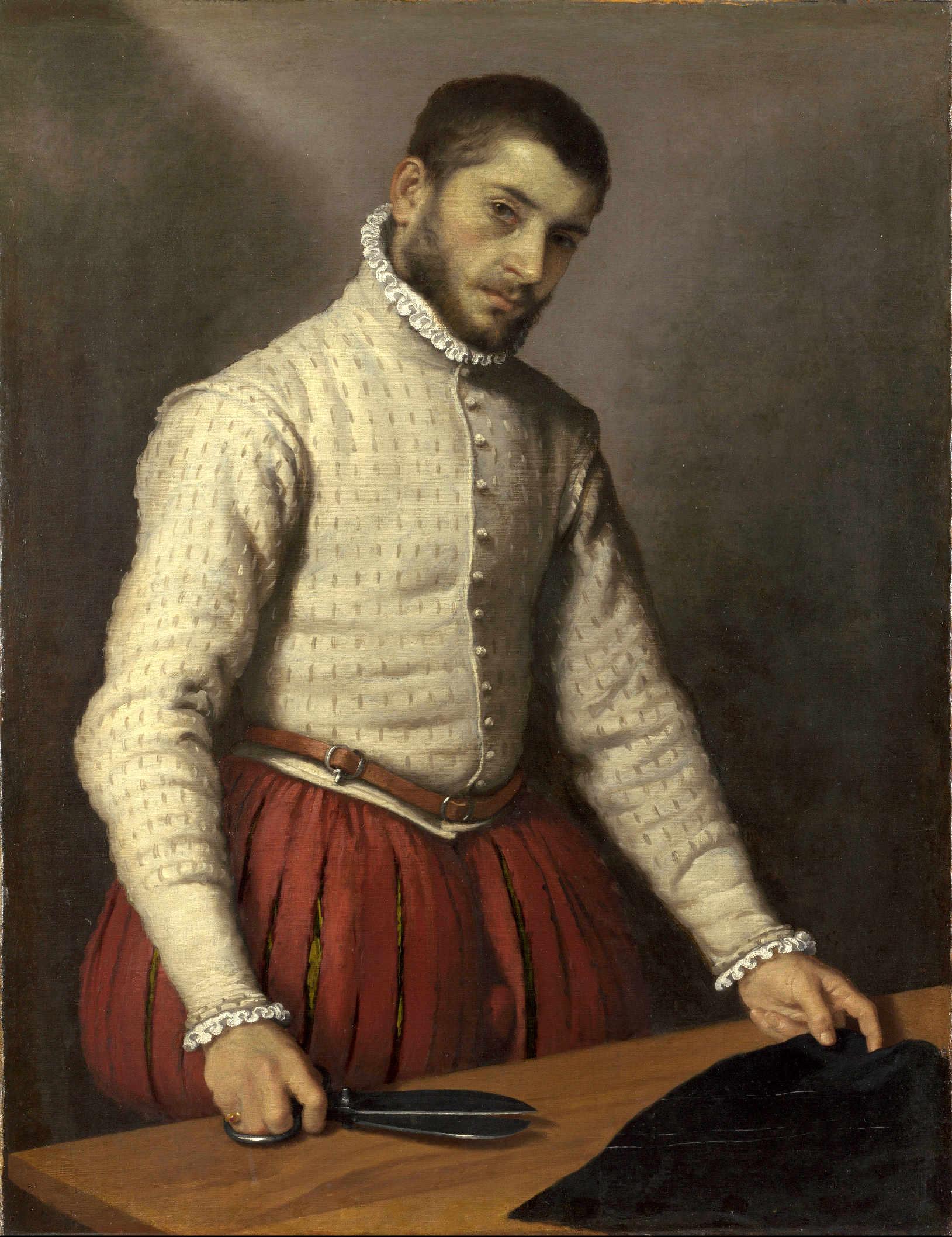 """Giovanni Battista Moroni """"Il Tagliapanni"""", circa 1570"""
